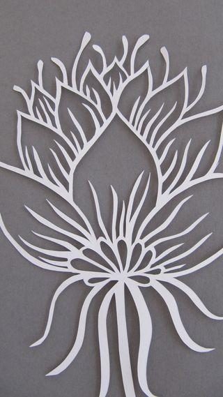 Flower_papercut